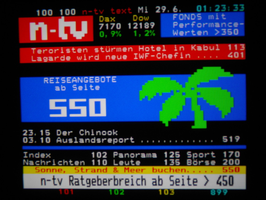 Teletext n-tv