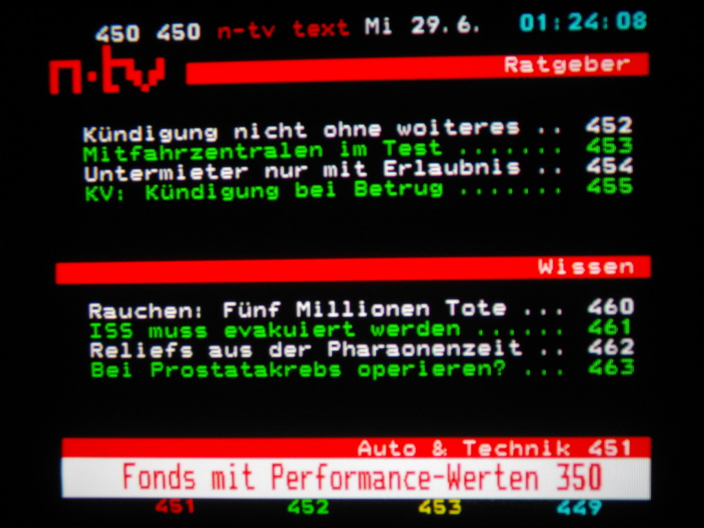 N-Tv Teletext