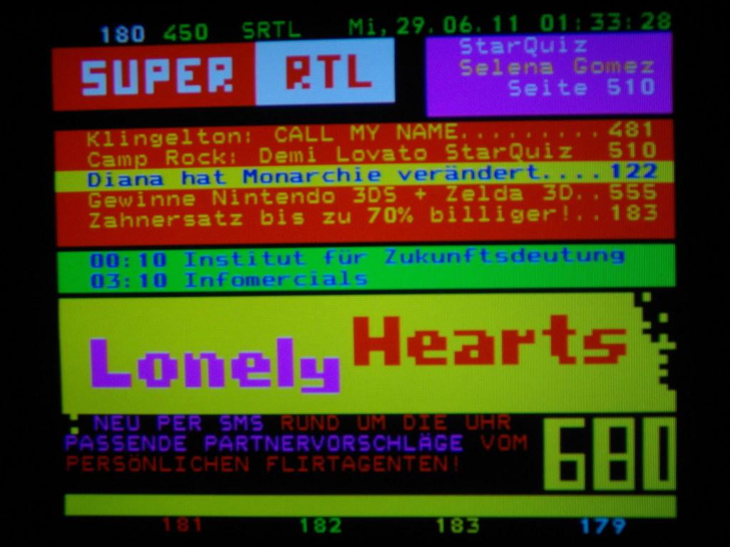 Teletext Super Rtl