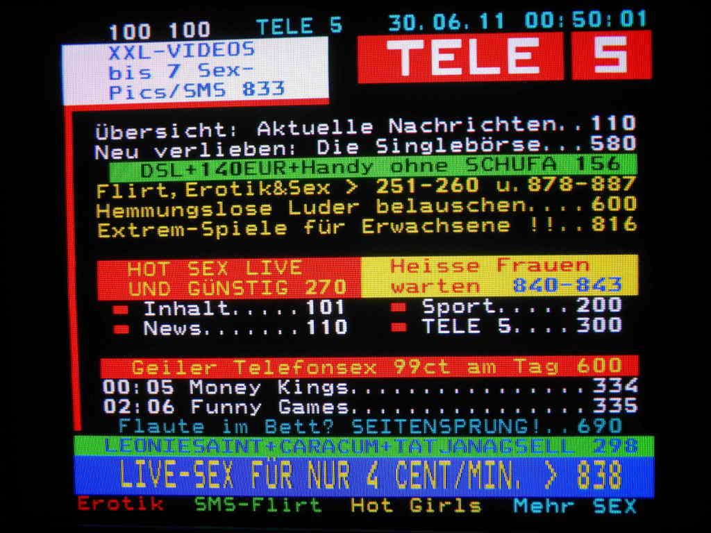 Fernsehen Tele 5