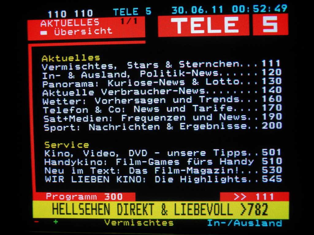Vox Teletext
